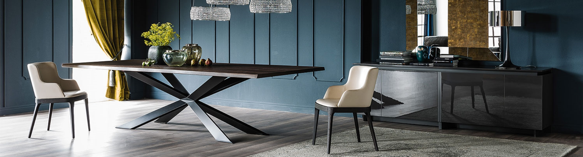 Spyder wood and the elegance of Cattelan Italia