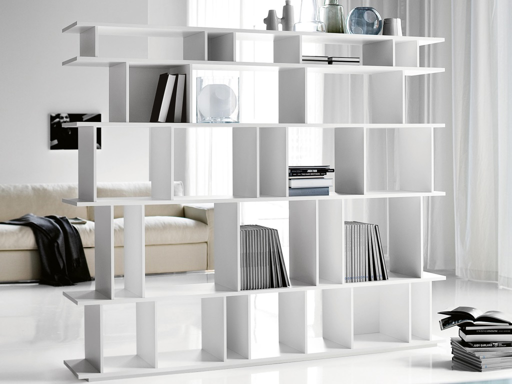 libreria loft di cattelan italia bertoli arredamenti. Black Bedroom Furniture Sets. Home Design Ideas